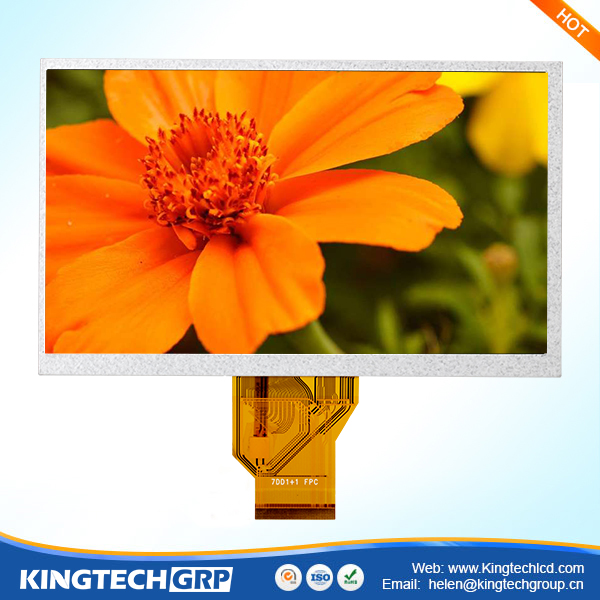 "f Innolux amous product 50 PIN 800rgb*480 mcu digital 7"" tft lcd"