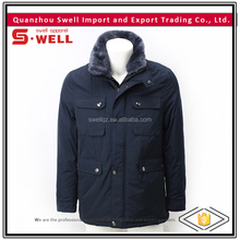 2016 wholesale custom latest design windproof quited jacket for men