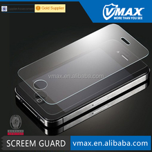 Best Quality 0.33mm Anti-Explosion tempered glass screen film for iPhone 4 4s oem/odm