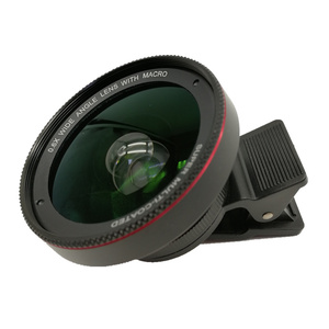 0.6x Wide Angle Cell Phone Camera Lens Kit