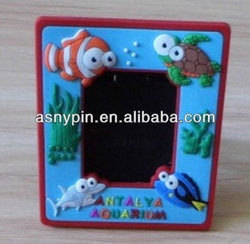 Antalya city 3D sea fishes souvenir picture frame for kids