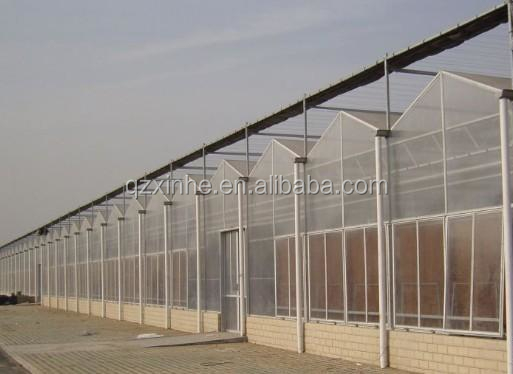 china pc polycarbonate corrugated sheet agricultural greenhouse