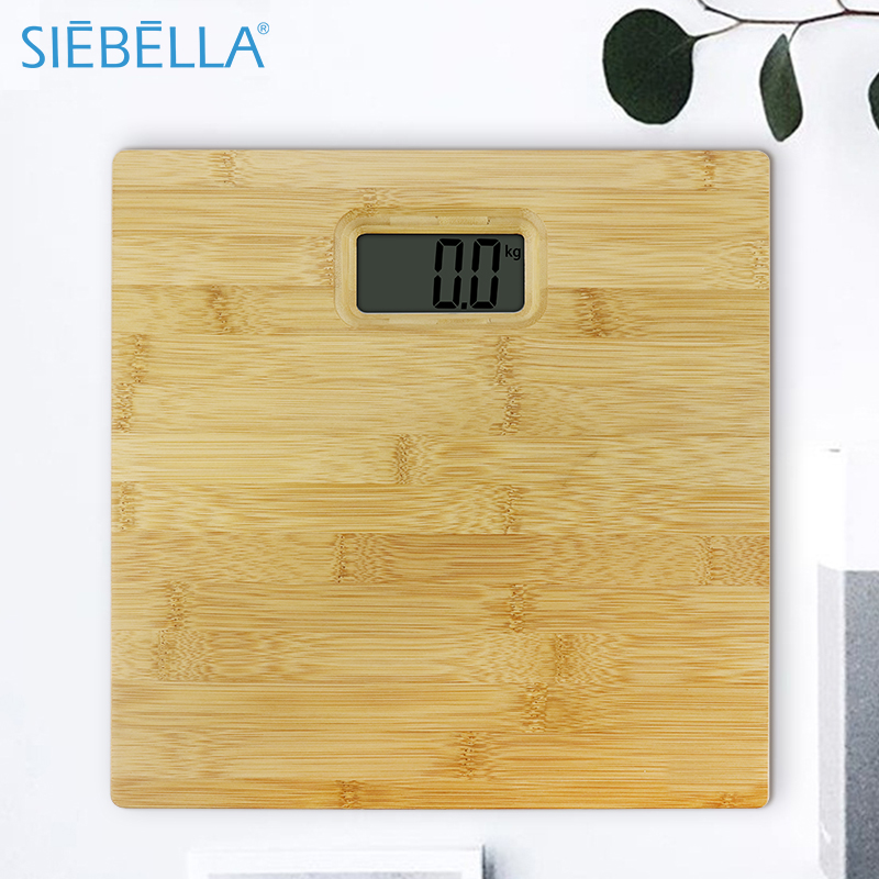 Bamboo Platform 150kg Digital Electronic Human Weight <strong>Scale</strong>