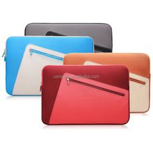 Waterproof Neoprene Sleeve Bag Cover for 13-13.3 Inch Laptop with Small Case
