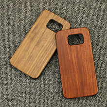 new style wood wooden mobile phone accessories for samsung galaxy s8 mobile phone real wood hard