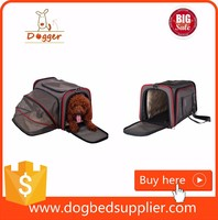 airline approved pet carrier for cats/portable expandable pet carrier/dog travel crate