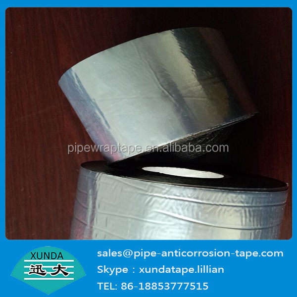 30mil thickness pe cold applied anticorrosion tape pipeline cold wrapping tape from xunda factory