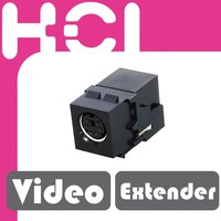 S-Video Jack Female to Female Nickel Plated AV Coupler