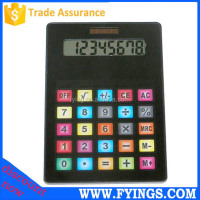 8 digital electronic touch screen big size desktop jumbo calculator OEM