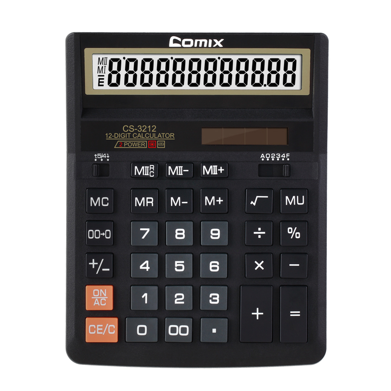 General Purpose Calculator Style and ABS,Plastic Material 12 digits Desktop solar calculator