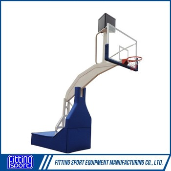 FIBA standard Electric hydraulic basketball stand/system/goal
