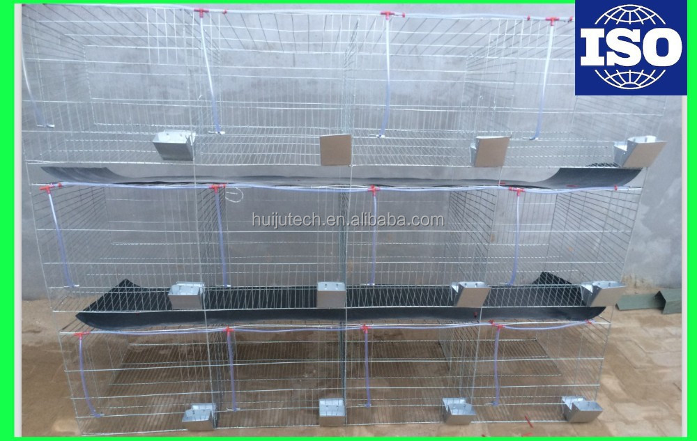 long life time farm machinery automatic indoor rabbit cages for sale