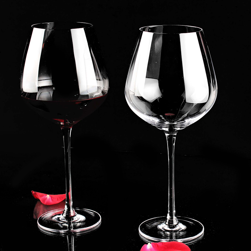 AliiSAR Brand High Quantity Retail Crystal Red Wine Glass in Alibaba Website