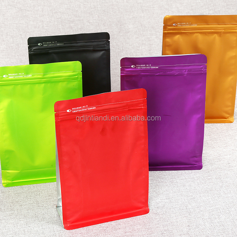 Plastic Type Slider Bag Customized African Printed Size Dried Fruit Ziplock Bags