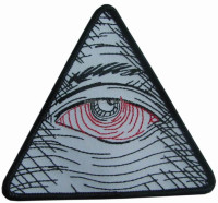 Seeing Eye of Providence Masonic Symbol Embroidery Applique Patch