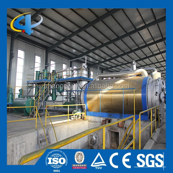 Best Price Pyrolysis Tire Oil Plant , Tyre Recycling Pyrolysis Plant