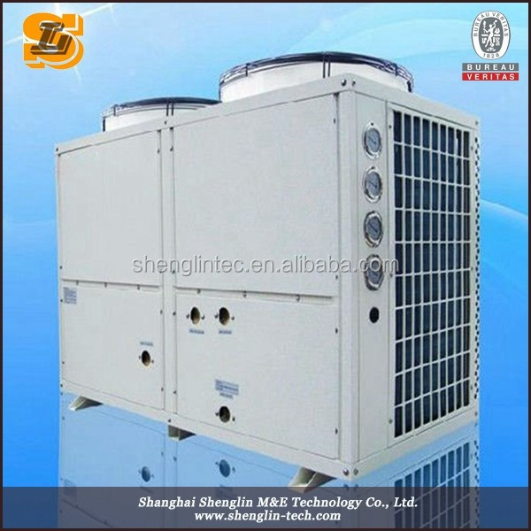 Commercial use modular design high efficiency pool heat pump water heater
