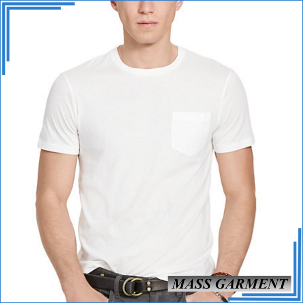 White t shirts for men 2 dollar with wholesale custom t shirt