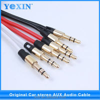 YI WU Favorites Compare Wholesale colorful Audio Cable Male to Male 3.5mm Stereo Audio Cable