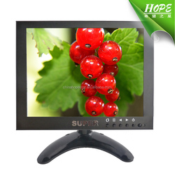 Metal Case 8 inch hdmi led monitor
