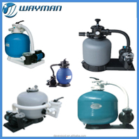 Davey sand filter with pump for spa