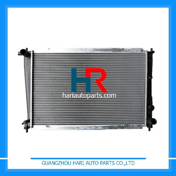 Aluminum Plastic car radiators for sale For Hyundai H 1 /H-200 2.4/G4CS'97 REFINE(G) MTM