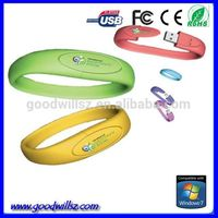 hot selling bracelet usb flash drive; 4gb wristband usb flash; bracelet usb memory
