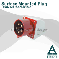 Female Dustproof 5 Holes Industrial Connector Plug