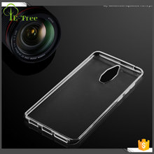 Moq 50 pcs transparent soft TPU back cover case for Huawei Mate 9 pro