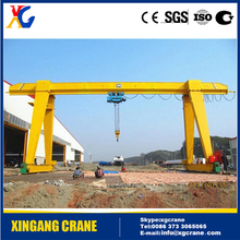 High quality MH single girder gantry crane price 10 ton 20 ton from crane hometown