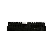 Rectangle connector 24 pin signal contacts + 11 pin power contacts ,powerblade power connectors ,Right angle through hole