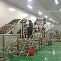 Tomato processing complete line