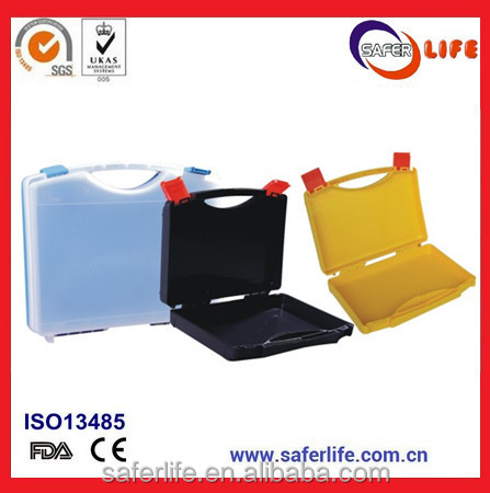 SL-D04 emergency PP material plastic tool kit box with blue color design