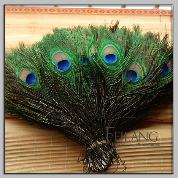Feilang indian peacock feather for cheap sale