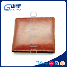 handmade man leather wallet / card wallet
