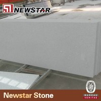 Newstar White Quartz Slab Agglomerated Quartz Stone For Kitchen Top