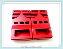 high quality surface treatment cnc machined covers/machining parts