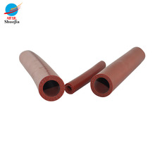 Extruded lining braided hydraulic silicone rubber hose tube