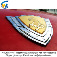 2016 new style custom design car decor sticker, car brand signs names, car logo signs