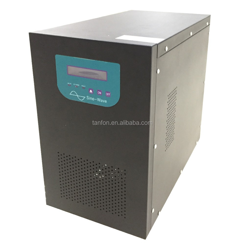 Bank reliable power 1000W 2000W online ups / 3000W 5000W home use inverter ups with AVR function