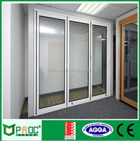 Two panels aluminium sliding doors with fiberglass flyscreen