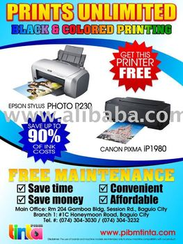Prints Unlimited Printer