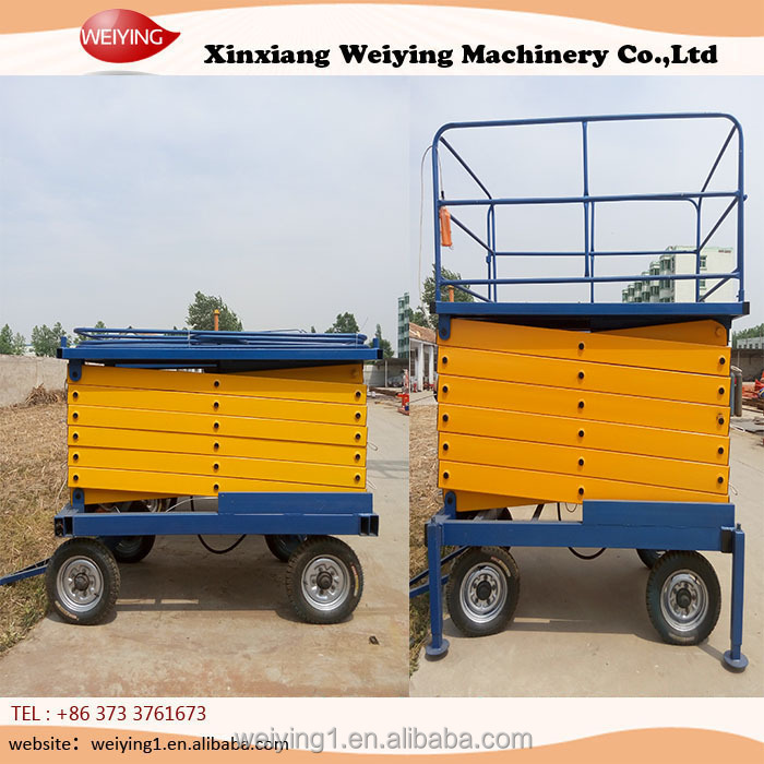 mobile vertical lift up mechanism