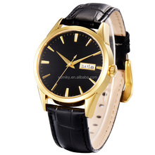 2015 new product vogue watch waterproof quartz watches men business casual wristwatch men genuine leather watch