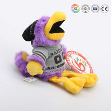 Plush bird animal shaped hand puppets from hands puppers factory