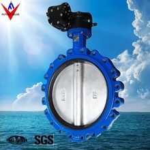 DN500 PN16 Cast Iron Full Lug Butterfly Valve