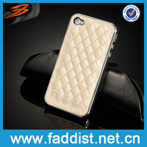 Unique New Design for iphone 4 Hard Leather Case 2013 Hot Sell
