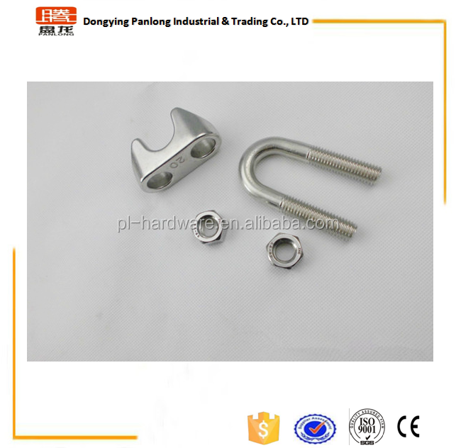 High Quality Stainless Steel DIN741 Wire Rope Clamp