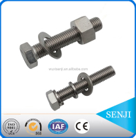 m8 hex bolt diameter with nut and washer grade 8.8 / wuxi senji