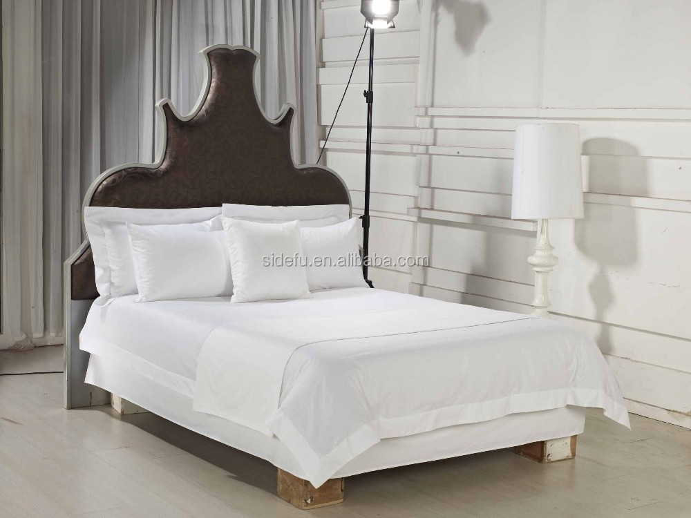China Supplier Hotel Bulk Percale 100 Cotton Bed Sheet